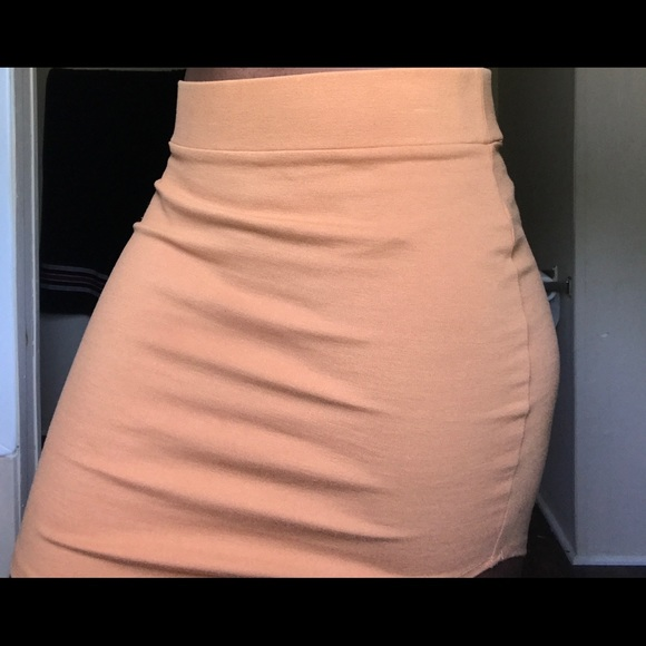 Forever 21 Dresses & Skirts - Light brown bodycon skirt